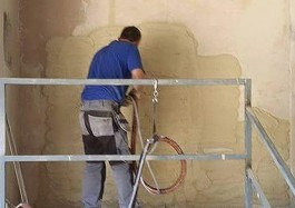 plastering training pft rendering uk machines